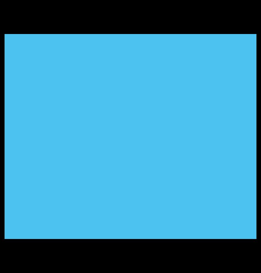 Land blue icon
